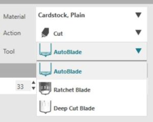 silhouette blade settings