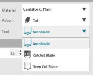 silhouette blade settings