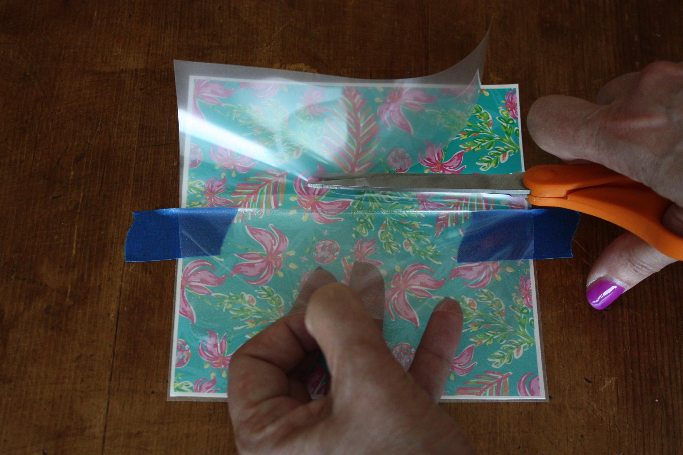 sparkleberry patterned vinyl overlay
