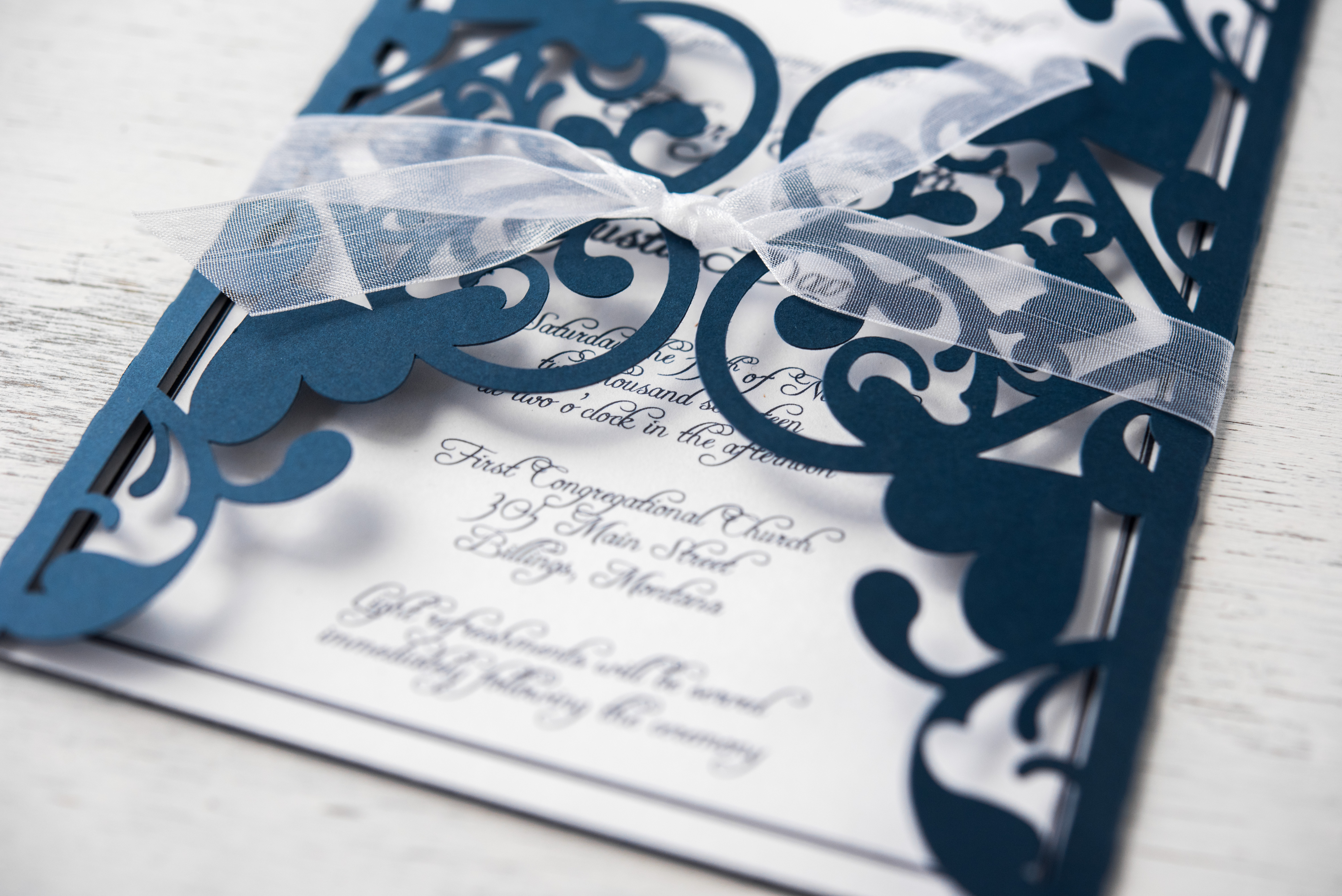 wedding invitation Silhouette