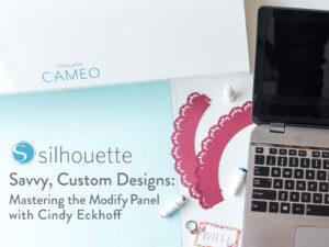 Cindy Eckhoff craftsy modify class