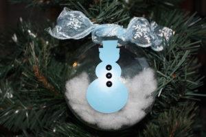 vinyl snowman