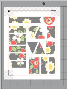 cropped printable pattern Silhouette