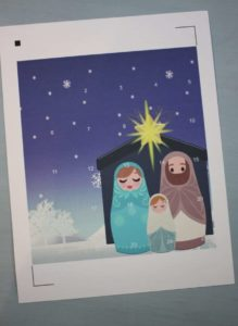 nativity advent calendar print and cut