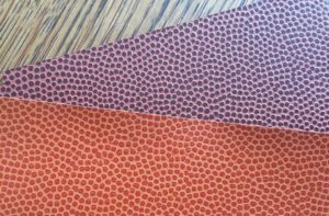 textured football basketball papers