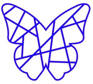 geometric silhouette design