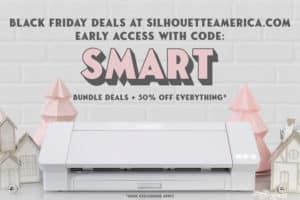 silhouette black friday 2019 sale early access coupon cameo
