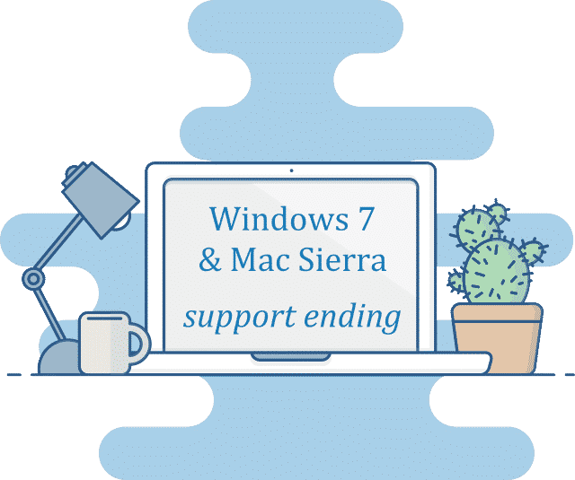 operating systems support ending