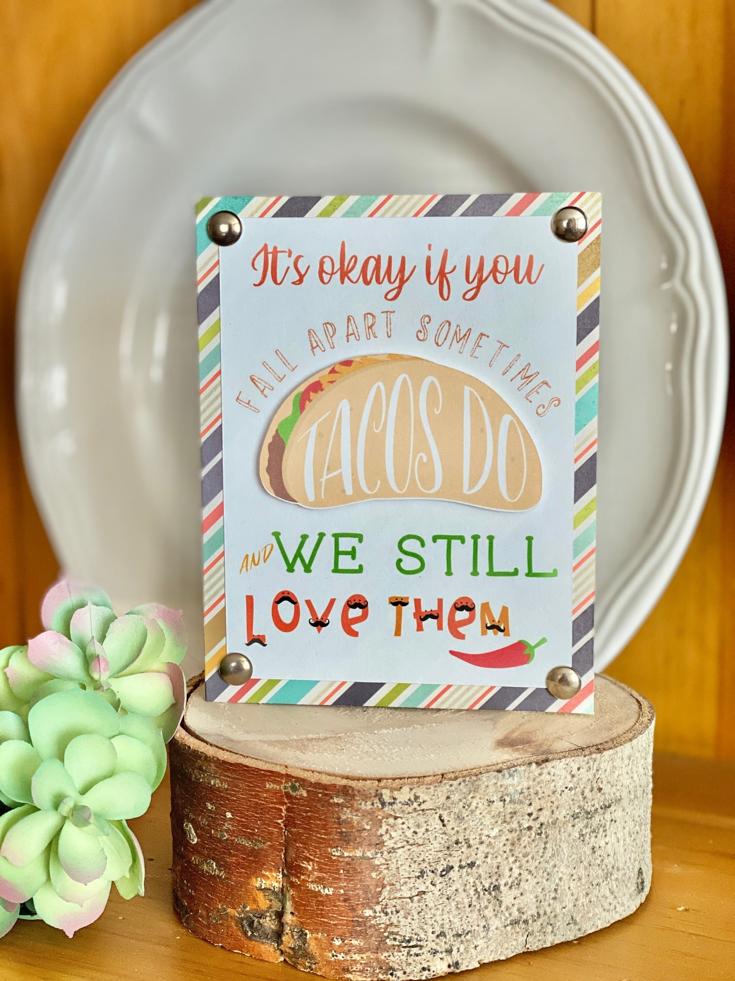print and cut color fonts on card